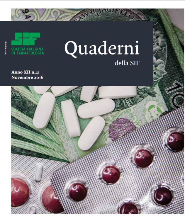 Quaderni della Sif, dalla collaborazione con Edra nasce la nuova edizione